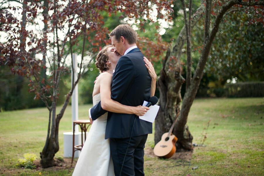 Mariage d'automne au château Le Haget