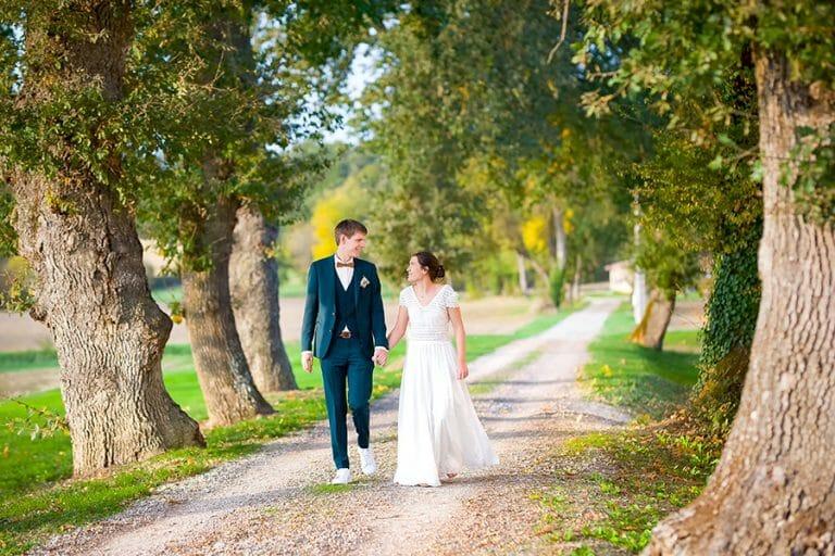 Mariage à Toulouse et Sarrant