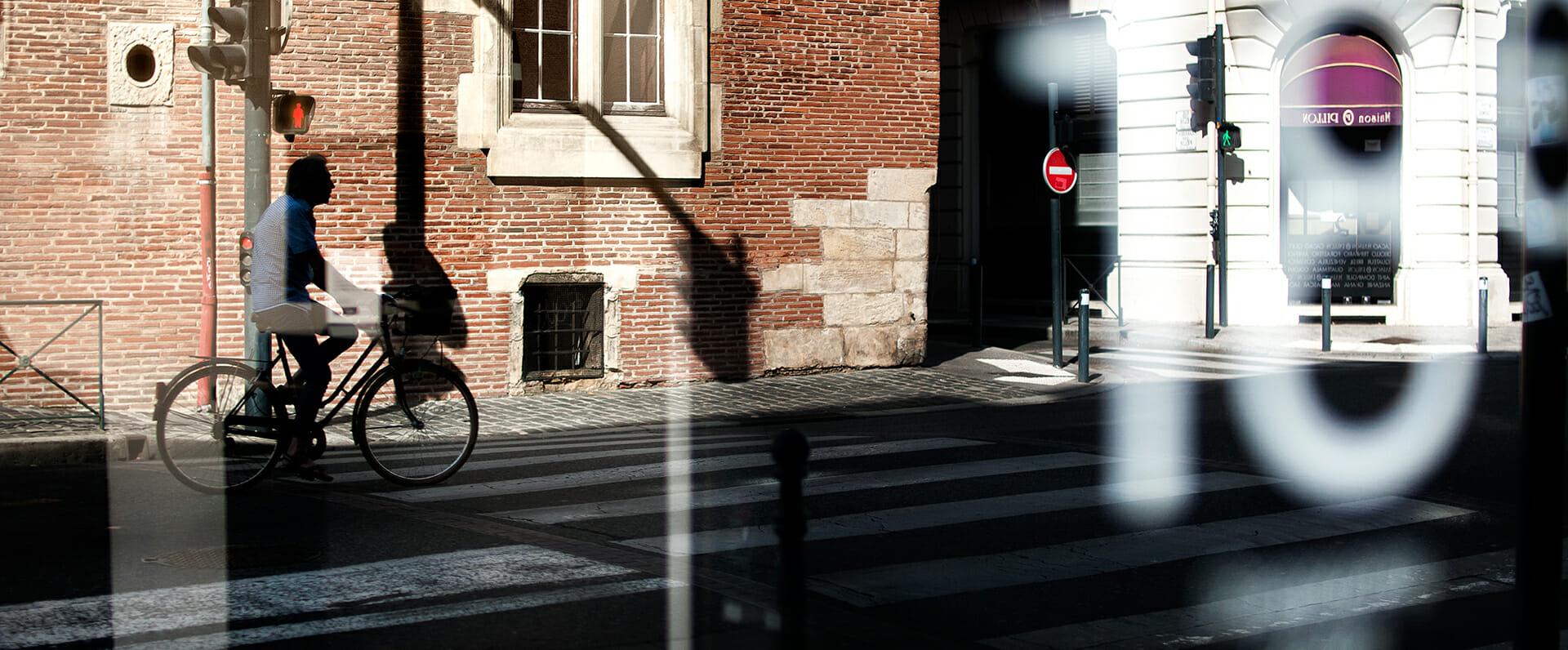 Bicyclette à Toulouse